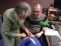 Liz at Three counties Radio